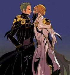 Zoro and Sanji