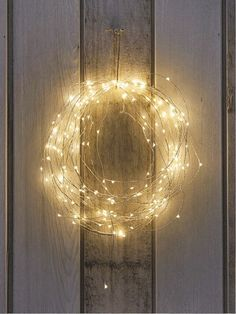 Tiny lights dance along your décor with the LumaBase Battery Operated Submersible Mini String Lights - Set of 2 . These string lights illuminate. Magical Christmas, Noel Christmas, Winter Christmas, Christmas Wreaths, Christmas Crafts, Outdoor Christmas, Beautiful Christmas, Christmas Lamp, Simple Christmas