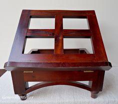Atril de madera personalizado catequesis pinterest atril personalizar y madera - Muebles atril ...