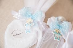 Baptism Set Christening with baby figurines and hand made soap Angel wings Set Greek Orthodox Baptismal  Oil Bottle and Soap  Accessory
