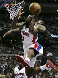 Rodney Stuckey (when he was good and promising)...