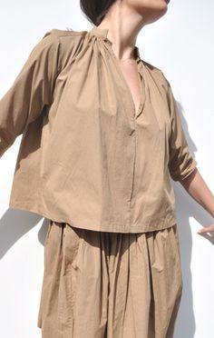 anaise: apiece apart agata blouse