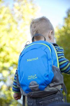 Marmot Kids Half Hitch Pack - Photo: Ben Lucero