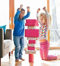Great Indoor Games for Families: Everyone can be a champion with these six silly family contests.