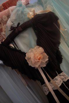 Madame Blavatsky's Parlour boudoir maxi dress via Love Child Boudoir