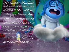 inside out fun facts sadness