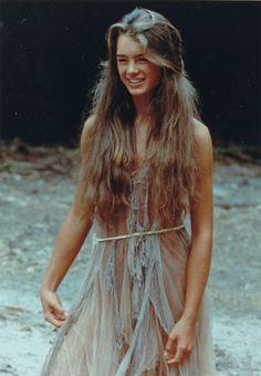Brooke Shields in Blue Lagoon