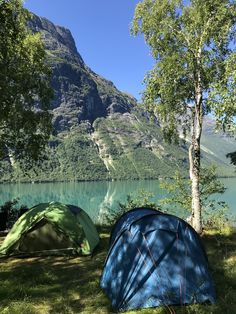 Lodalen, Norway, tent with view #freecamping #teltliv #teltplasser #campsites #tentwithview