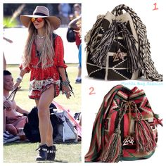 """This bae has everything... Except a cool """"Mochila Bag Addixion"""" Which one DO YOU think goes best with """"Vanessa Hudgen's"""" outfit 1 or 2?"""