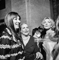 Anjelica Huston, Lauren Bacall & Natasha Richardson