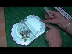 Create this beautiful Book card using the Grand dies from Spellbinders and then dress it up any way you want too. It makes a gorgeous keepsake gift for any occasion. Spellbinders Labels 4 (card-making-magic.com) - YouTube