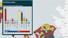DEMOGRAFI Valgsteder med offentligt ansatte svigter rød blok   Valg2015   DR