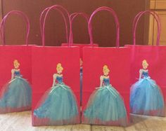 Disney Princesses 12 Birthday Party Favor by FantastikCreations