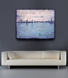 Abstract painting large canvas Painting Textured by baronvisi, £125.00