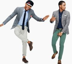 Pink pants dark blue jacket and camel shoes impeccable styling best mens sports jackets blazers and suit jackets modeled by trey songz gq march 2012 gumiabroncs Choice Image