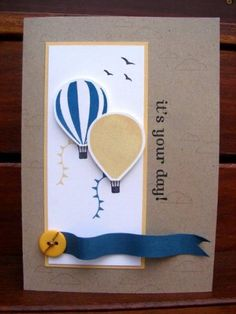 Up. Up & Ballooning by stamp my day - Cards and Paper Crafts at Splitcoaststampers