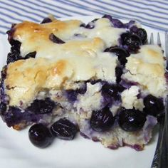 Blueberry Dumpling Cobbler Recipe