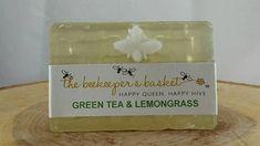 Green Tea Lemongrass Glycerin Bar Soap Glycerin Bee Soap