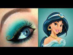 Princess Jasmine Makeup Tutorial. Youtube channel: http://full.sc/SK3bIA