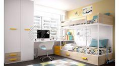 Quartos Juvenis e Criança - Moveis e Decoração de Interiores, Loja de Moveis online | Graça Interiores | Moveis Graça