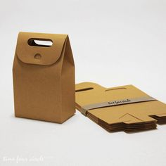 Set of 60 Kraft Gift Box Favor Gift Party by TimeFourCircle, $35.00
