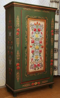 1000 images about bauernmalerei bauernschr nke on pinterest painted armoire armoires and. Black Bedroom Furniture Sets. Home Design Ideas