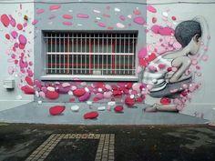 Seth Globepainter transforma muros sem graça em murais gigantes coloridos ao…