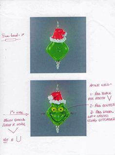 My Grinch Bead Instructions - Lampwork Etc.