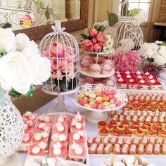 Candy bar nunta romantic