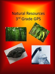 This document contains 8 pages of natural resources that fit into the categories of renewable and nonrenewable resources. Each page is a different ...