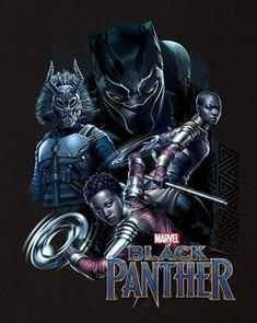 Black Panther Movie Poster Featuring T'Challa in Black Panther Suit, Erik Killmonger, Nakia and Okoye, Check Out The Black Panther Movie Trailer Breakdown and Missed Details - DigitalEntertainmentReview.com