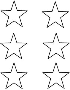 American Flag Star Stencil Template  etc  Pinterest  American