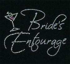 Bride's Entourage Rhinestone T-Shirt