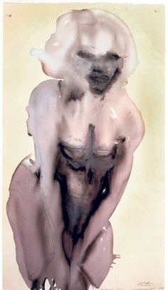 Marlene Dumas, Morning Dew, 1997.