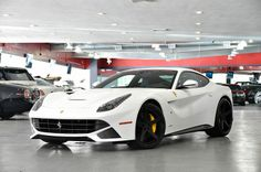 Stunning Matte White wrapped #Ferrari F12 - Very Very Rare! Supercars on @eBay Motors - amazing! Click the link for more details #spon