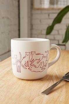 Cat Mug | Urban Outfitters