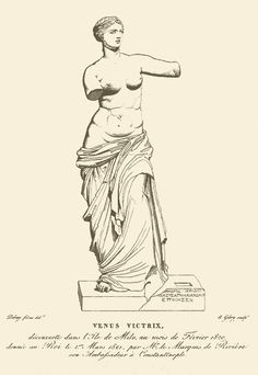 Venus de Milo - Wikipedia, the free encyclopedia Art Drawings Sketches Simple, Easy Drawings, Ancient Greek Sculpture, Equine Art, Sculpture Art, Art History, Comic Art, Street Art, How To Draw Hands