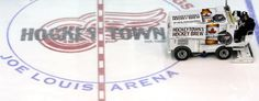 """Could new technology called the """"Ice Jet"""" replace hockey's iconic Zamboni? (Getty Images)"""