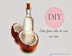 Aprenda como fazer óleo de coco 100% natural em casa, veja o passo a passo.