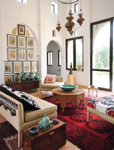 Beautiful Moroccan style living room