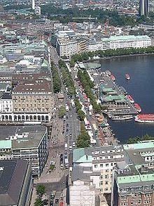 Jungfernstieg – Wikipedia