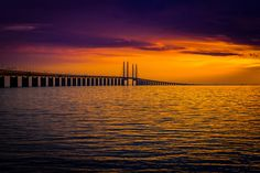 Öresundsbron by Johan Bengtsson on 500px