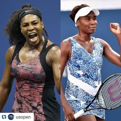 It's sister vs. sister at the @usopen tonight - who are you rooting for? #tennis #sports #usopen #usopen2015 #sisters