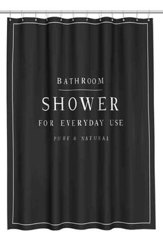 baie hm ro badkamer douchegordijnenzwarte