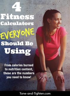 4 valuable resources to help amplify your results! Calorie calculators, nutrition analysis, and more! From Tone-and-Tighten.com
