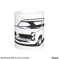 1967 Pontiac GTO. Coffee Mug