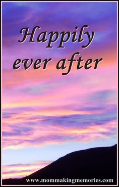 Happily ever after Beautiful Photos Of Nature, Good Marriage, Making Memories, Happily Ever After, Once Upon A Time, Motivational, Survival, Wisdom, Posts