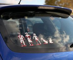 Family Car Decals For Zombies
