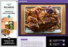 - La Presse+ Tandoori Chicken, Ethnic Recipes, Table, Food, Lavender Lemonade, Garlic Chips, Coleslaw, Kitchens, Brussels Sprouts