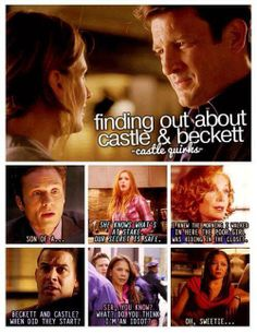 Everyone's reactions to finding out about Caskett :))
